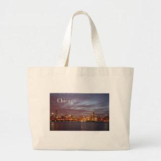 USA Chicago St.K) Large Tote Bag