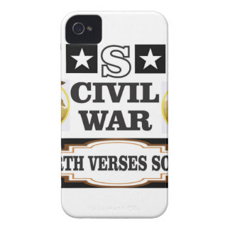 USA civil war north verses south iPhone 4 Cover