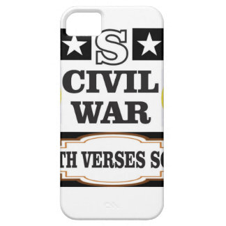USA civil war north verses south iPhone 5 Cover