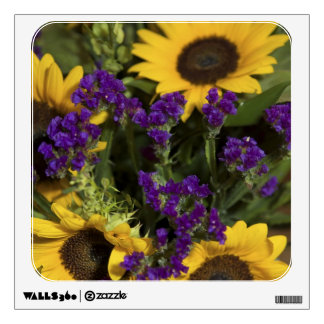 USA, close-up of bridal flower arrangement, Wall Decal