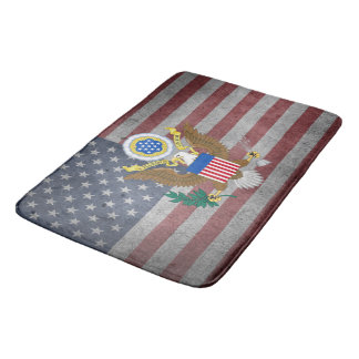 Usa Coat of arms Bath Mat