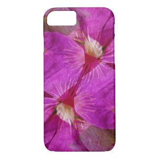 USA, Colorado, Boulder. Clematis flower montage iPhone 7 Case