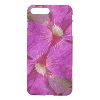 USA, Colorado, Boulder. Clematis flower montage iPhone 7 Plus Case