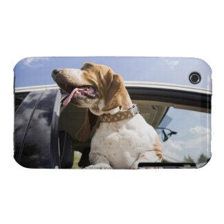 USA, Colorado, dog looking through car window 2 Case-Mate iPhone 3 Cases