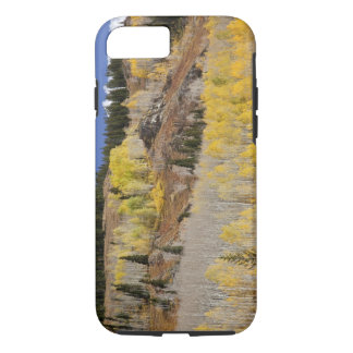 USA, Colorado, Gunnison National Forest, along iPhone 7 Case