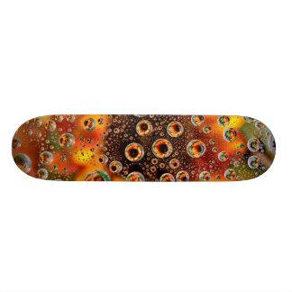 USA, Colorado, Lafayette. Water bubbles on glass 1 Skateboards