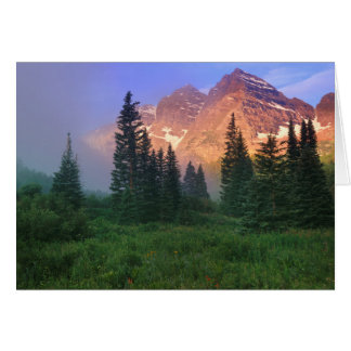 USA, Colorado, Snowmass Wilderness Card