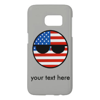 USA Countryball Samsung Galaxy S7 Case
