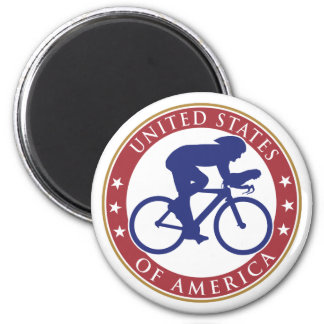 USA Cycling Magnet