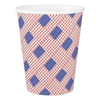 USA Dachshund Paper Cup