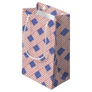 USA Dachshund Small Gift Bag