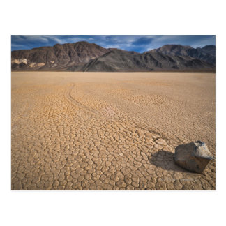 USA, Death Valley, Rock on Playa Postcard