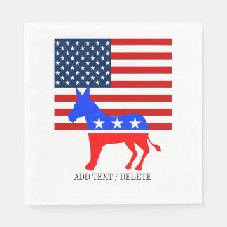 USA Democrat Napkins Paper Napkin