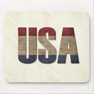 USA Distressed Mousepads