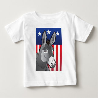 USA Donkey, Democrat Pride Baby T-Shirt