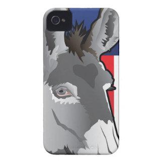 USA Donkey, Democrat Pride iPhone 4 Case-Mate Case