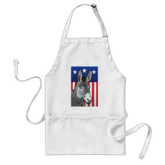 USA Donkey, Democrat Pride Standard Apron