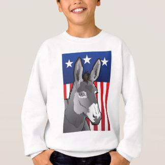 USA Donkey, Democrat Pride Sweatshirt
