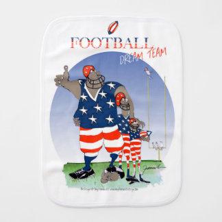 USA dream team, tony fernandes Burp Cloth