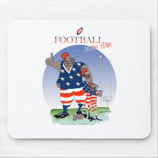 USA dream team, tony fernandes Mouse Pad