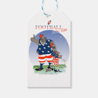USA dream team, tony fernandes Pack Of Gift Tags