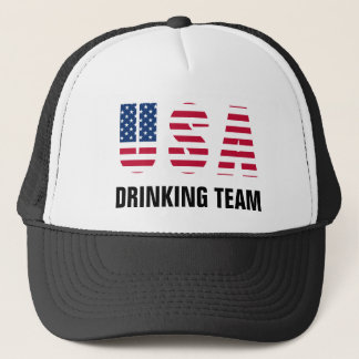 USA Drinking Team Trucker Hat