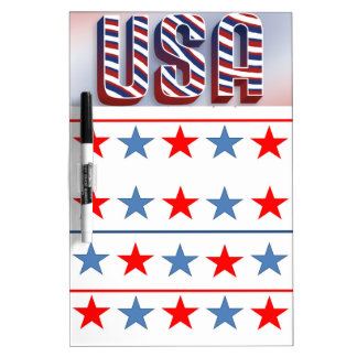 USA Dry Erase Board