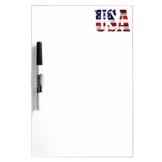 USA Dry-Erase WHITEBOARD