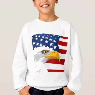 USA eagle and flag Sweatshirt