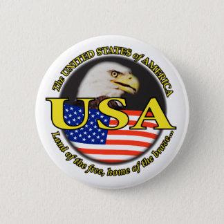 USA EAGLE BUTTON