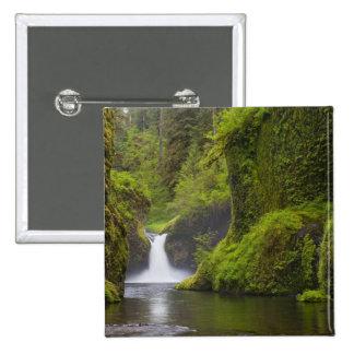 USA Eagle Creek Columbia Gorge Oregon 3 Pinback Buttons