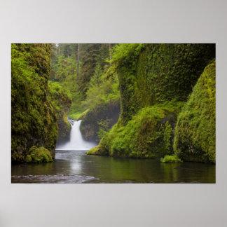 USA, Eagle Creek, Columbia Gorge, Oregon. 3 Poster