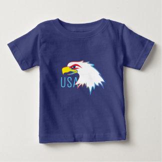 USA Eagle Head Baby T-Shirt
