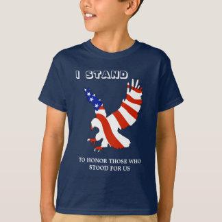USA Eagle I Stand T-Shirt