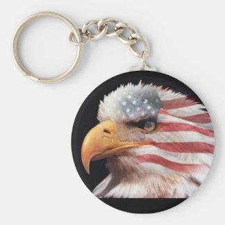 USA eagle Keychain
