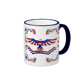 USA Eagle Coffee Mugs