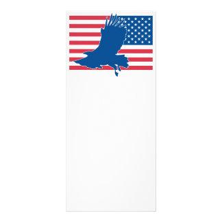 USA eagle Rack Card