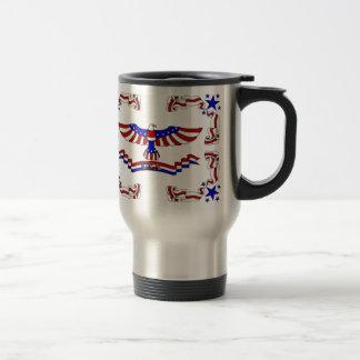 USA Eagle Travel Mug