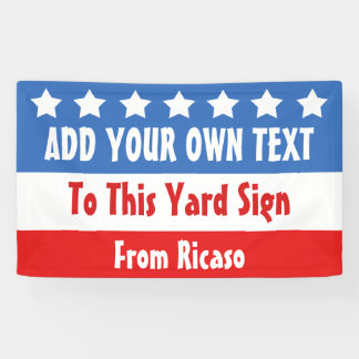 USA Election Customizable Banner