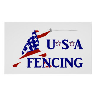 USA Fencing Poster