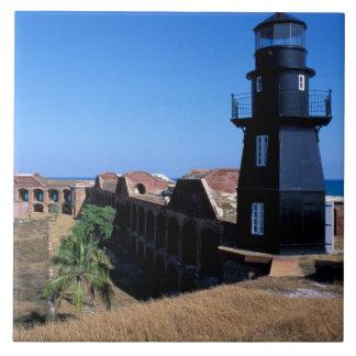 USA, FL, Florida Keys, Fort Jefferson, 1846, 2 Tile
