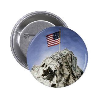 USA Flag 2 Inch Round Button