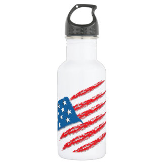 Usa flag 532 ml water bottle