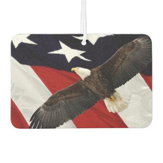 USA Flag and Eagle Air Freshener