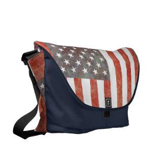 USA FLAG BAG COURIER BAG