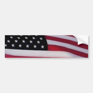 USA flag bumpersticker Bumper Sticker