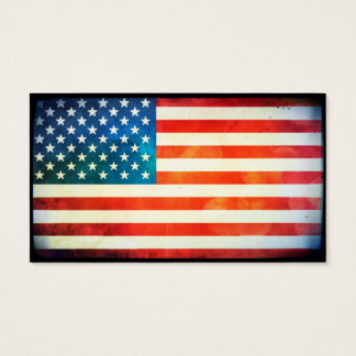 USA Flag Business Card