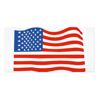 USA flag Card