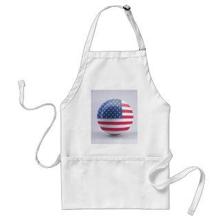 usa-flag circle design standard apron