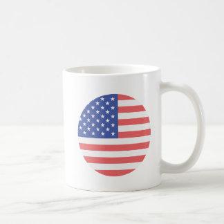 USA Flag Circle Mug